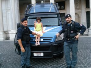 rome with children