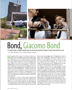 Bond, Giacomo Bond