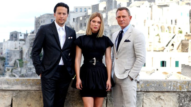 Bond is back in Italy