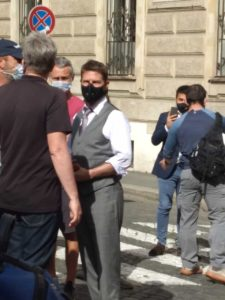 Tom Cruise is back in Rome